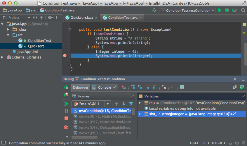 Intellij Idea Debug